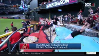 Pool party! D-backs celebrate return to playoffs