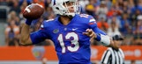 No. 17 Florida sticks with QB Franks after lopsided loss
