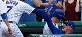 Rivera hits grand slam as streaking Cubs top Braves 14-12