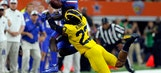 No. 11 Michigan rolls late, beats No. 17 Florida 33-17