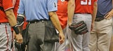 Scherzer hit on calf, believes injury isn't serious