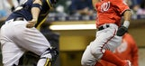 Turner's double caps Nats' 3-2 comeback win over Brewers