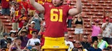 Blind long-snapper Jake Olson plays in game for USC Trojans