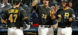 Rookie Luplow hits first HR, Pirates beat Reds 5-0