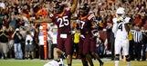 No. 21 Virginia Tech beats No. 22 West Virginia 31-24