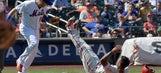 Reyes, Cabrera homer, Mets top Phils 11-7 to end 4-game skid