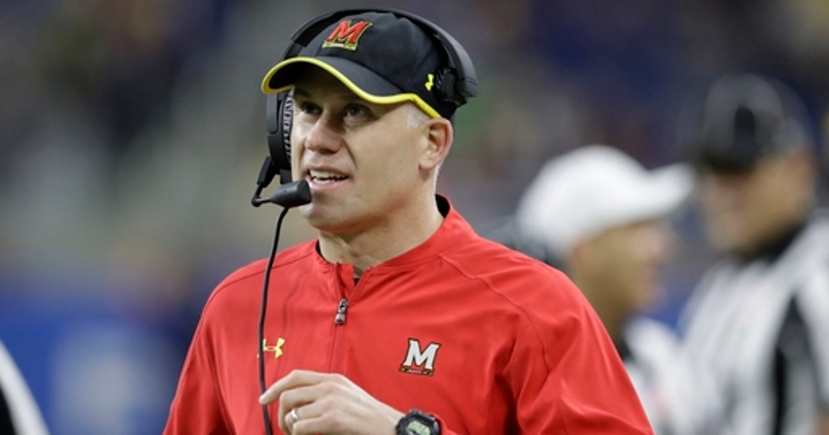 FILE In this Dec 26 2016 file photo Maryland head coach DJ Durkin walks the sideline during the first half of the Quick Lane Bowl NCAA college