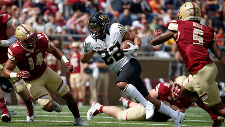 Wake Forest forces 4 turnovers to beat Boston College 34-10