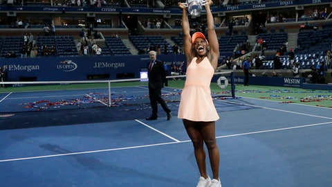 Sloane Stephens crushes Madison Keys to win US Open title