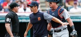 MLB rules no intent on Tigers pitch that hit plate umpire