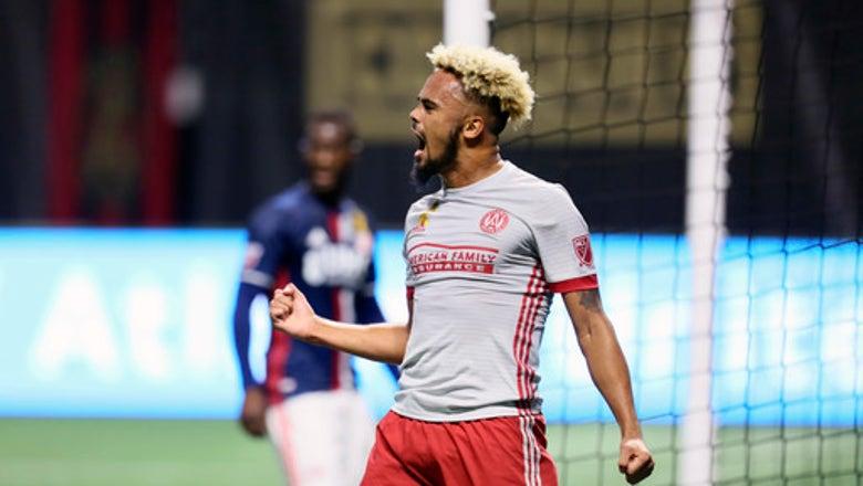 Martinez's 1st-half hat trick leads Atlanta by Revs 7-0