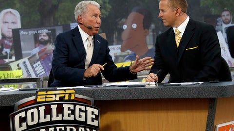 ESPN's 'College Gameday' coming to Times Square in NY