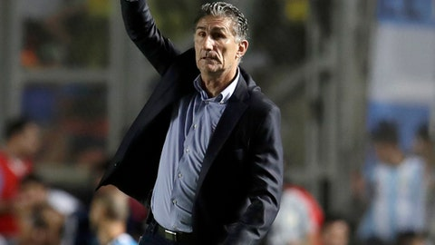 Ex-Argentina coach Edgardo Bauza to lead Saudi Arabia at Russia 2018