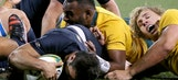 Australia beats Argentina 45-20 in Rugby Championship