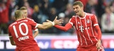 Bayern routs Mainz 4-0 to start Oktoberfest celebrations