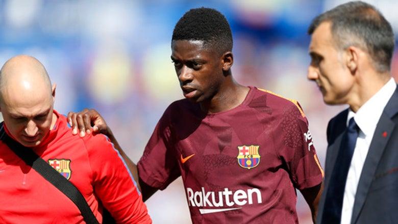 Barcelona says Dembele surgery a success