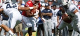 Hornibrook shines, No. 10 Wisconsin rolls 40-6 over BYU (Sep 16, 2017)