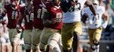 Wimbush runs (207 yards, 4 TDs) Notre Dame past BC 49-20 (Sep 16, 2017)