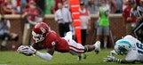Oklahoma WR Lamb ejected for targeting