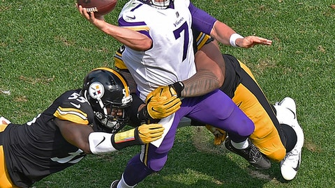 Case Keenum, Vikings quarterback (↓ DOWN)