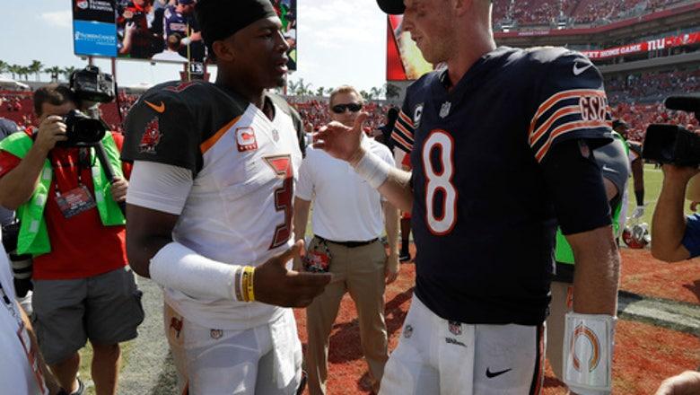 Bears' Glennon tries to shake off rough outing, QB debate
