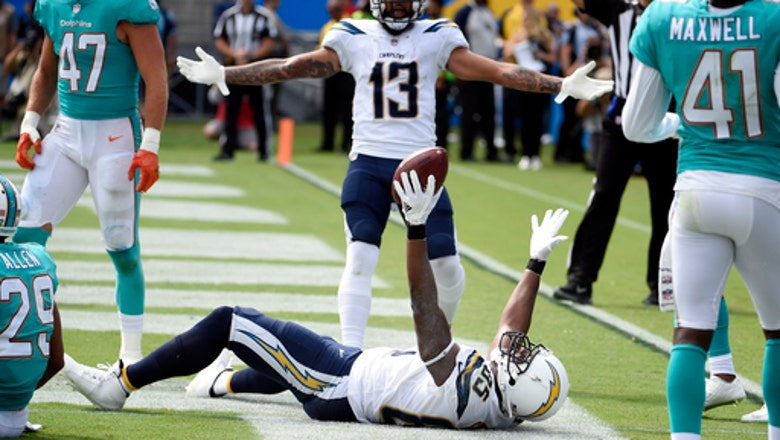 Chargers' Gates sets mark with 112th TD as tight end