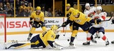 Brickley leads Panthers to exhibition win over Predators