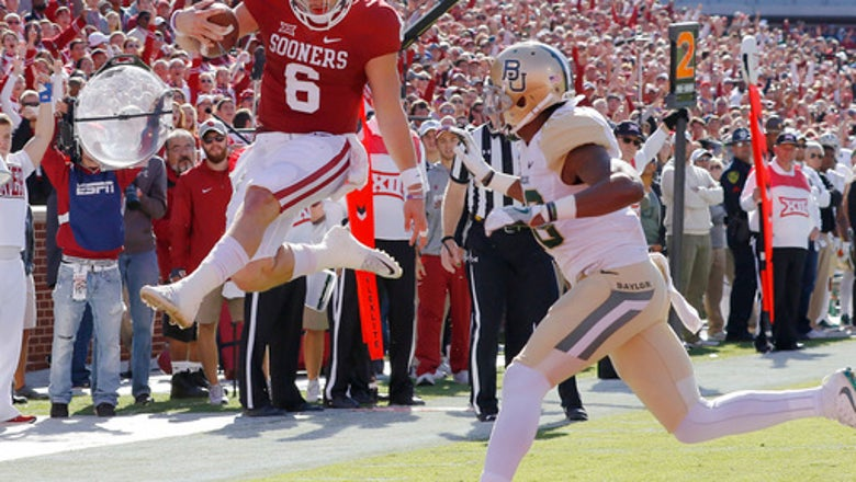 Third-ranked Oklahoma streaking into Big 12 opener at Baylor