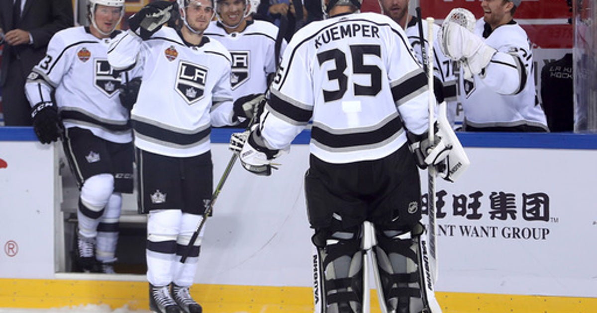 Kings beat Canucks 4-3 after shootout in China (Sep 23, 2017) | FOX Sports