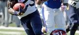 Grier, Crawford help West Virginia put away Kansas, 56-34 (Sep 23, 2017)
