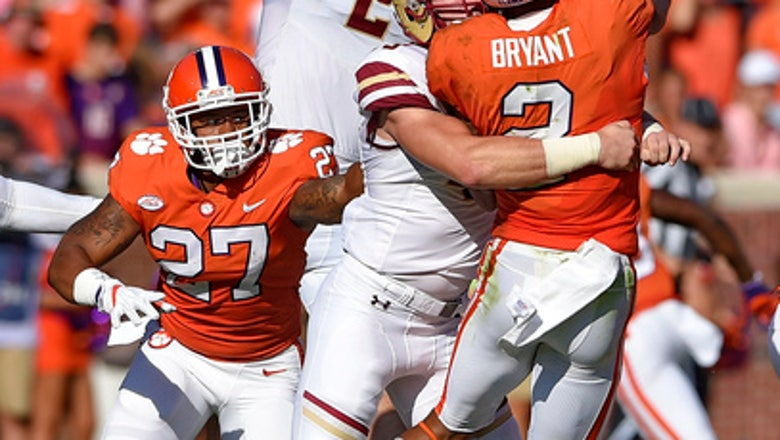 No. 2 Clemson pulls away in 4th quarter to beat BC 34-7