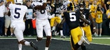 No. 4 Penn State beats Iowa 21-19 with TD on final play (Sep 23, 2017)