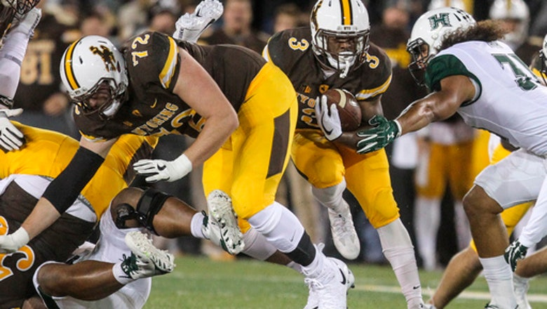 Wyoming beat Hawaii in overtime 28-21 on INT