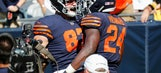 Bears turn receivers to blockers to accent running attack