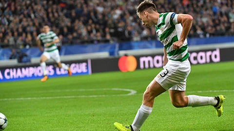 Leigh Griffiths Goal Gives Celtic A Crucial Lead In Anderlecht