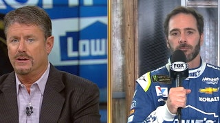 Andy Petree doesn't think Jimmie Johnson will make it to the 3rd round of playoffs