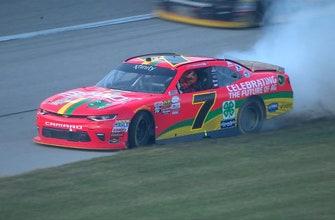 Justin Allgaier wins at Chicagoland   2017 NASCAR XFINITY SERIES