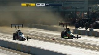 Doug Kalitta Wins Top Fuel Final at Charlotte | 2017 NHRA DRAG RACING