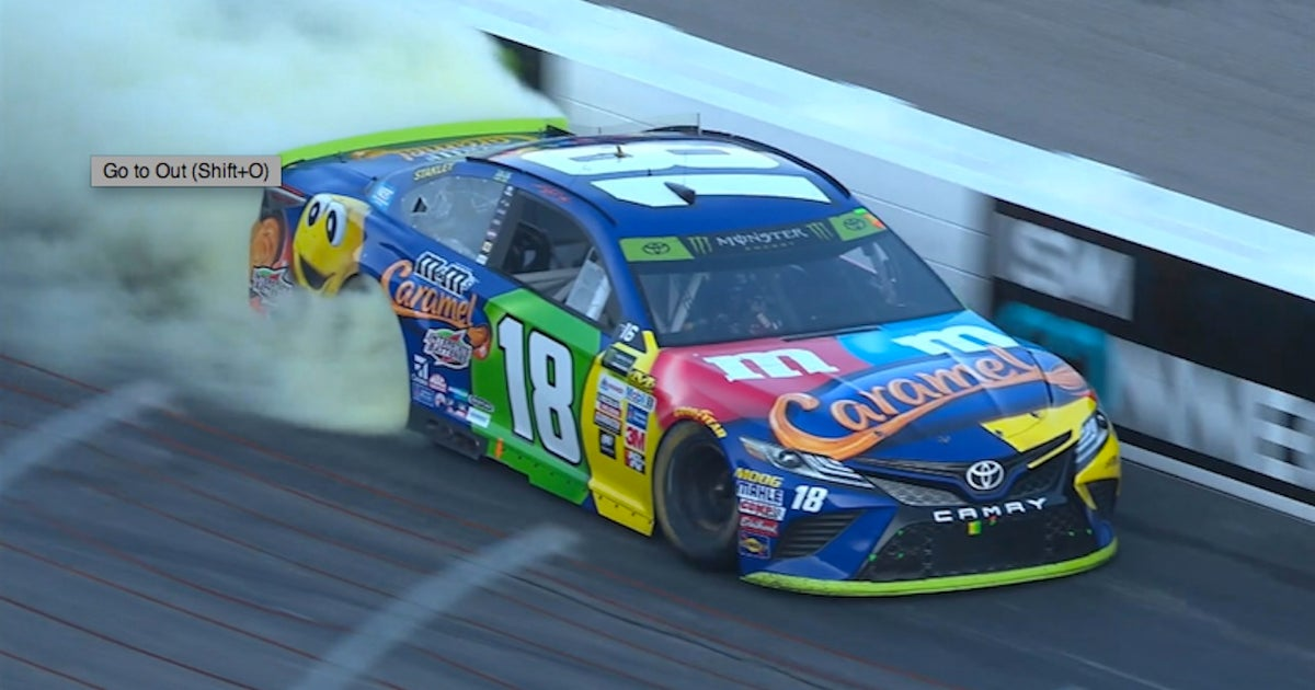 Kyle Busch dominates for his third win of the year   2017 LOUDON (VIDEO)   FOX Sports