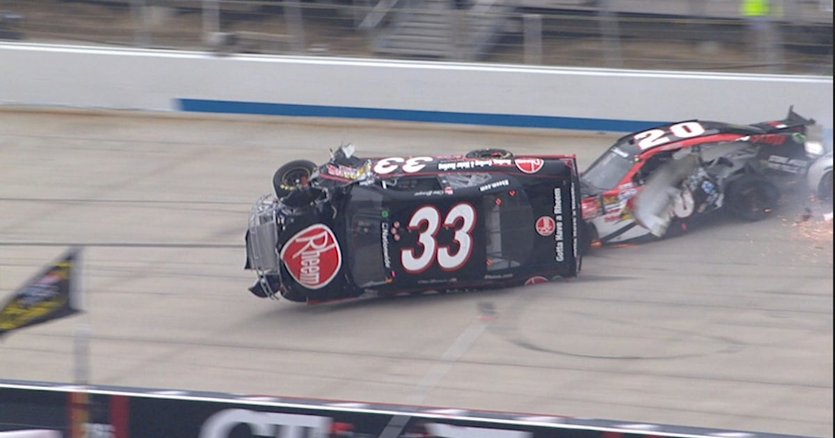 Take a look back at 5 of the biggest wrecks from the Monster Mile ...