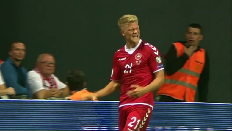 Andreas Cornelius gives Denmark 2-0 lead | 2017 UEFA World Cup Qualifying Highlights