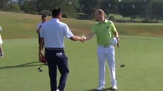 Highlights from the U.S.A.'s opening split in the Walker Cup