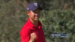 Watch how the USA did in Walker Cup Day 1 singles play
