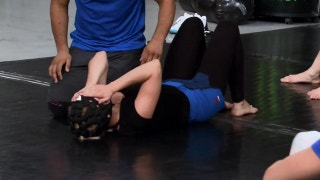 Emily Whitmire injures herself during 'Ultimate Fighter' training