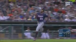 WATCH: Buxton, Kepler help Twins to win over Tigers