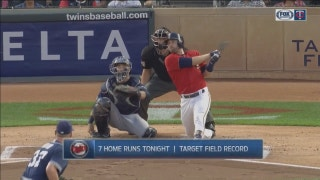 WATCH: Twins pound 7 homers in first 7 innings