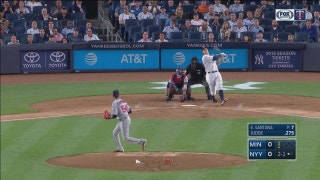 WATCH: Twins come up short in New York, 2-1