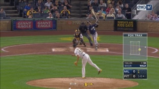 WATCH: Brewers' Braun belts solo shot