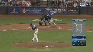 WATCH: Brewers grab late lead but fall to Cubs