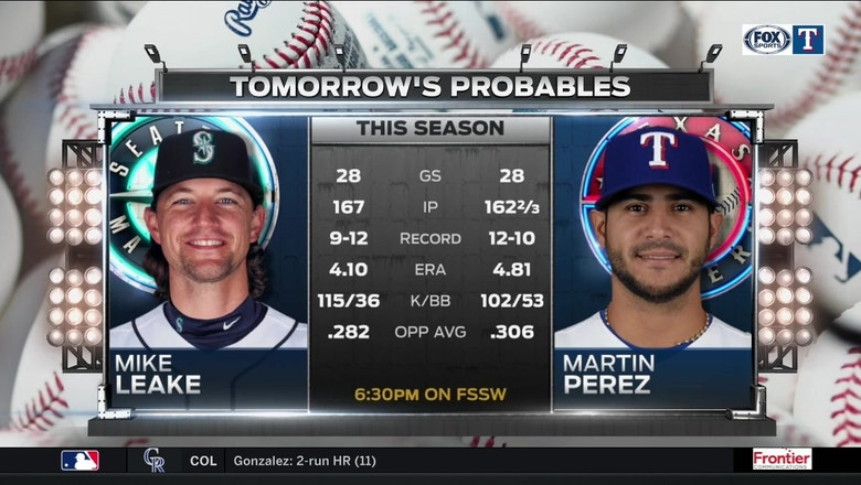 Martin Perez goes for the win | Rangers Live